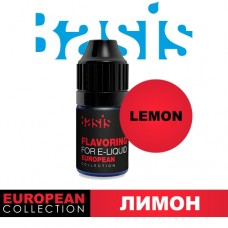 Ароматизатор Basis European Collection: Lemon (Лимон) (5 мл)
