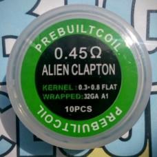 """Комплект готовых спиралей """"Alien Clapton"""" (10 шт)"""