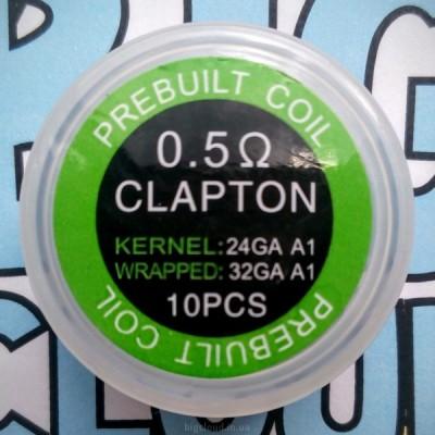 """Комплект готовых спиралей """"Clapton"""" (10 шт)"""