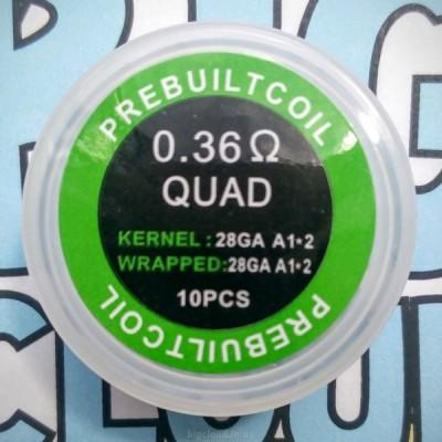 """Комплект готовых спиралей """"Quad"""" (10 шт)"""