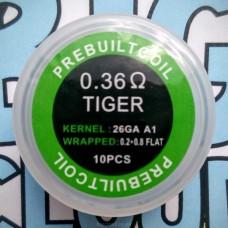 """Комплект готовых спиралей """"Tiger"""" (10 шт)"""
